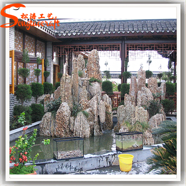 Design Of Indoor Fountains And Waterfalls with Pool Pump
