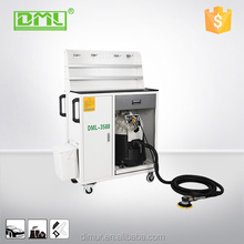 Car service equipment mobile dry sanding/grinding dust extraction system