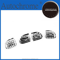chrome exterior interior abs plastic accent tuning, Chrome Dash Air Vent Replacement for Peugeot 206 / 206CC