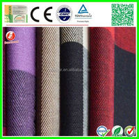 new develop elastic 98% cotton 2% spandex twill fabric factory