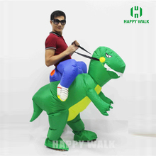 HI inflatable dragon costume,Inflatable Walking Dinosaur Mascot Costume for Children