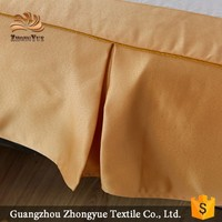 zhongyue hot sale 100% polyester plain bedspread