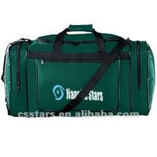 Hunter green sportswear shoulder strap gear bag