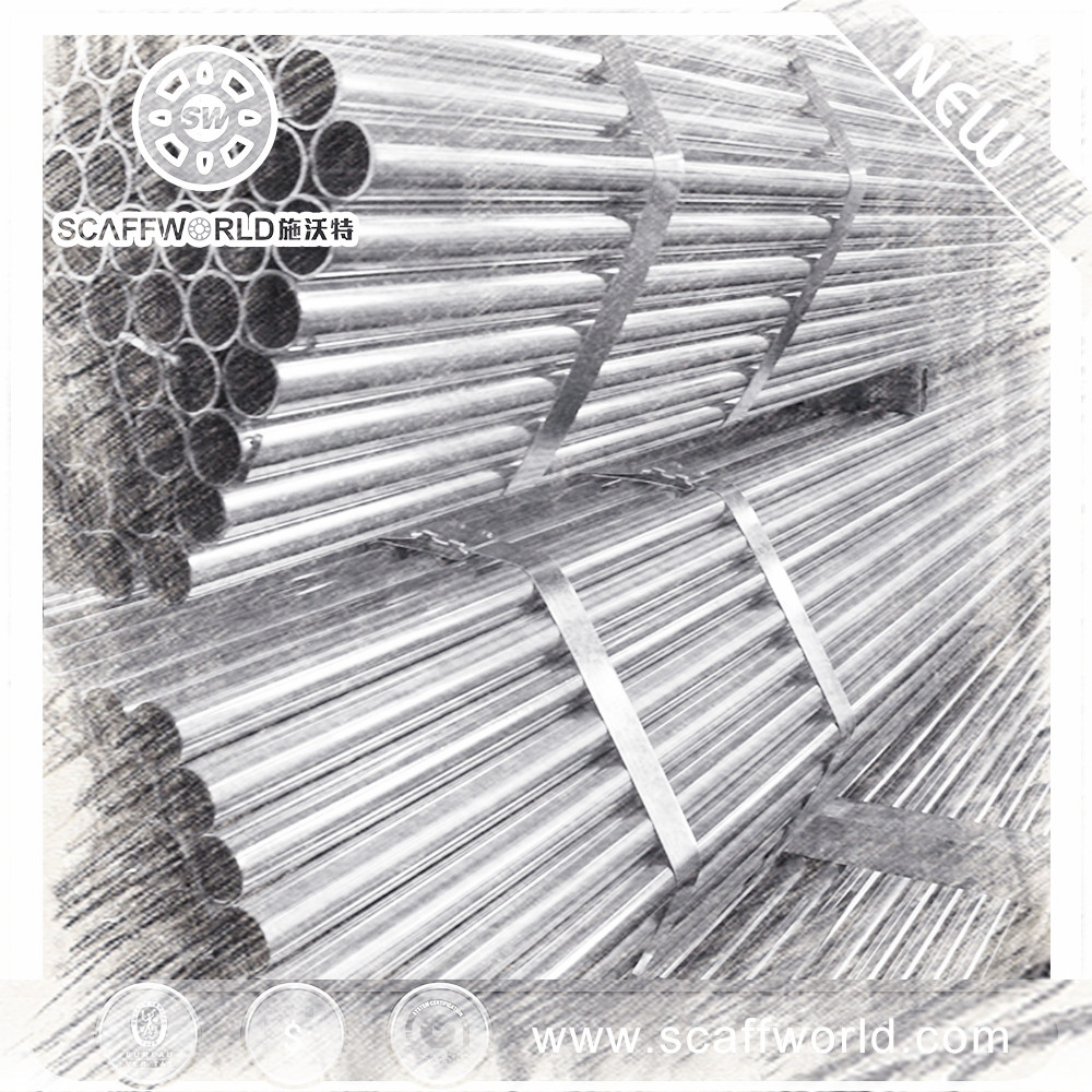 Factory directly sale construction steel pipe ASTM standard gi pipe price list for building material