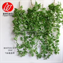 342-110-801 factory direct hanging plant green artificial simulation supermarket decorating design ivy leaves vine