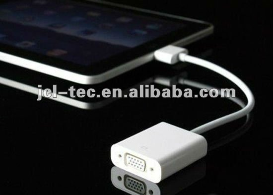 vga for apple iphone/ipad/ipod VGA Adapter cable
