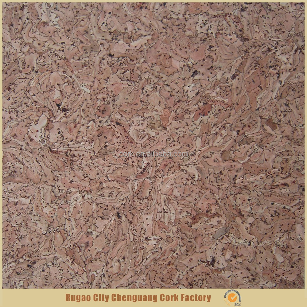 Interior decoration eco-friendly natural new cork wall tiles