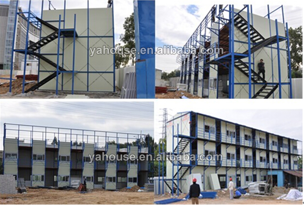 Fancy durable Modular Prefab K Homes / House with Steel Frame