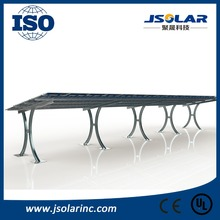 High quality cost effective solar panel mounting solar carport