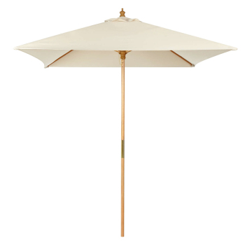 China supplier quality outdoor wooden waterproof Beach parasol umbrella