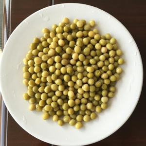 Tin can food Green peas in brine for Dubai import