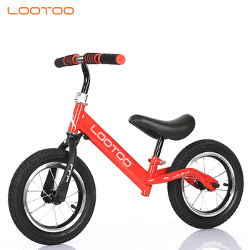 Mini riding walk toy led light 12 inch tyre wheels balance bike for kids