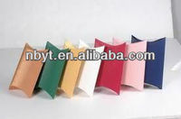 cheap colorful corrugated paper pillow box