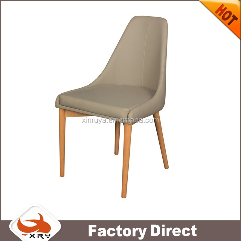 Living room furniture high back leather dining chair with armrest for new design