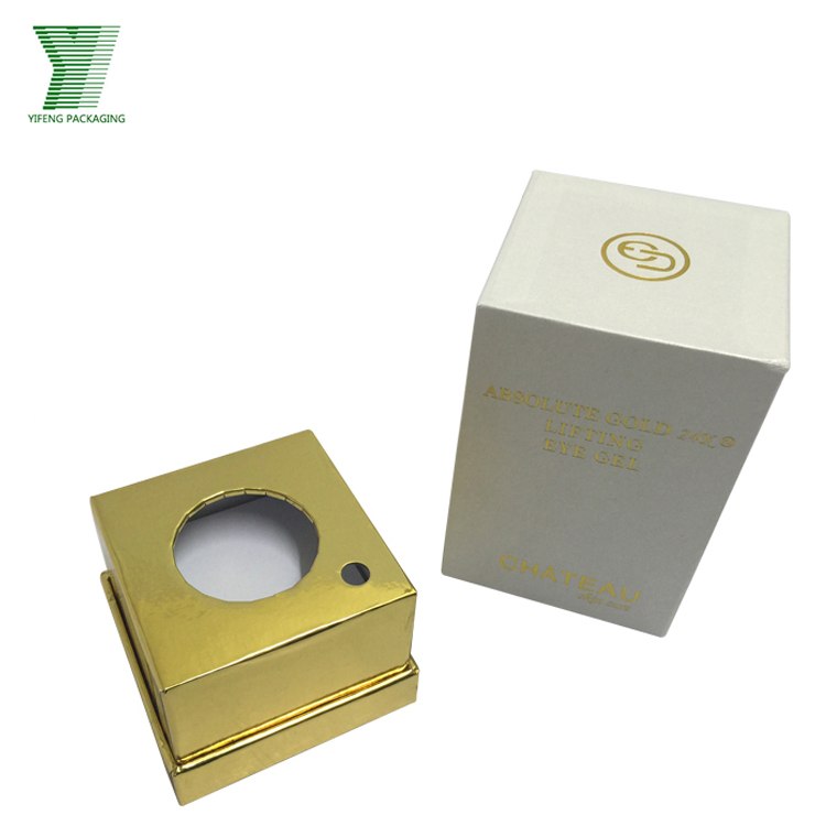 Prive personal skin care cream packaging custom cardboard paper box for skin care