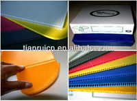 fire retardant sealed edges PP/PE corrugated plastic box