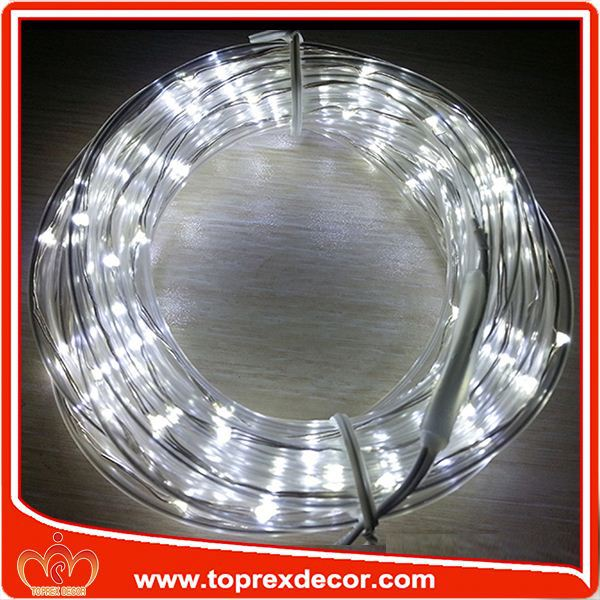 low-Voltage led fiber optic plug in light