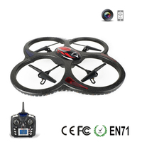4CH 2.4G wifi FPV transmission plastic professional iphone rc quadcopter with drone hd camera