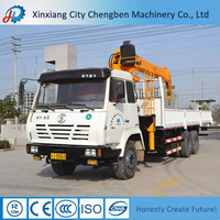 Widely Used Machine Mobile Three Axle Truck Mounted 12Ton Crane