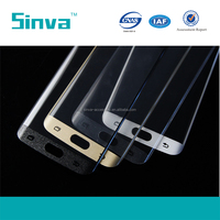 0.1mm 0.2mm Anti-Explosion full cover tempered glass screen protector for samsung S6 edge Plus