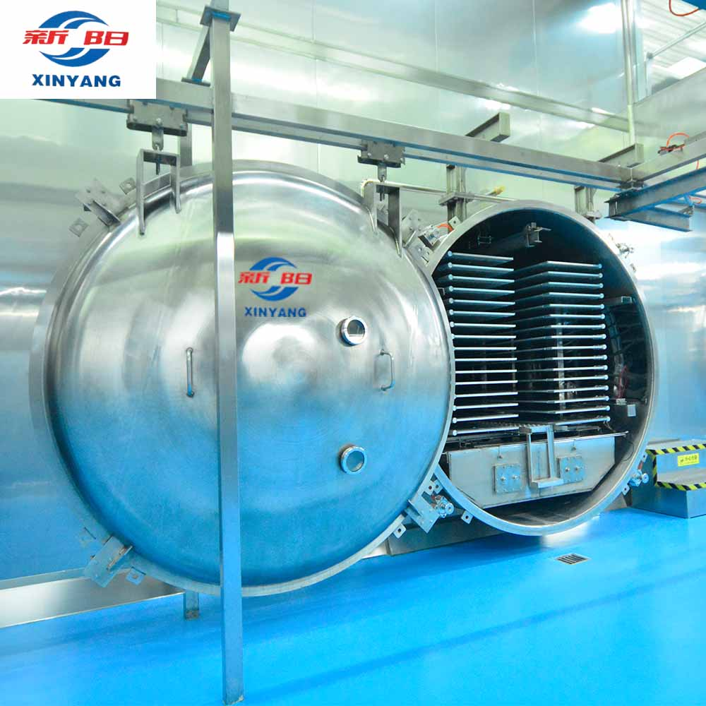 Vacuum freeze drying machine plant fruit processing machine vegetable processing machine