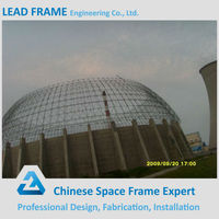 Steel Structure Metal Space Frame Prefab Dome for Power Plant
