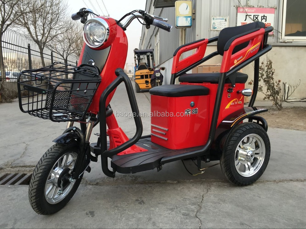 Adult Chinese electric tricycles/electric rickshaws with motor 3 wheels