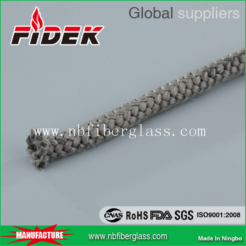 Oven Gasket Braid Black Glass Fiber Seal Rope