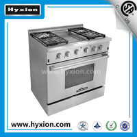Hyxion Thorkitchen Pro-Style 36'' 4 burner propane gas range parts