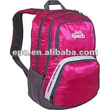 Large capacity 600D laptop backpack bag made in china