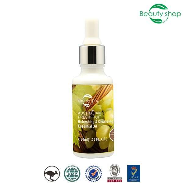 fresh fruit refreshing & cleansing pure organic skin whitening essential oil
