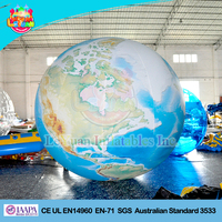 Good made Inflatable Earth Globe/Event Sphere/Decoration Balloon