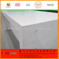Quartz Stone Kitchen Counter Top Table