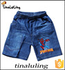 new boys spider man jeans wholesale summer pants shorts