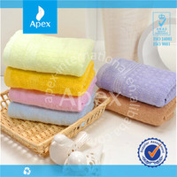 2014 hot sale solid color quick dry bamboo fiber bath towel