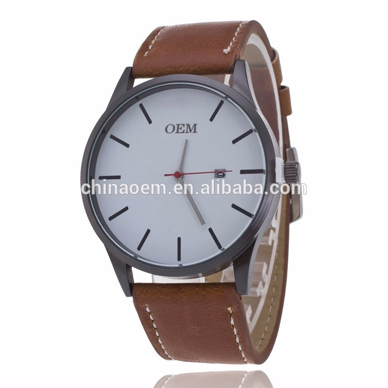 Men's Watch Stainless Steel Business Clock Quartz Fashion Watch