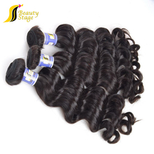 High quality gray hair,machine weft color 99j brazilian hair weave blonde and brown real blonde human hair weave