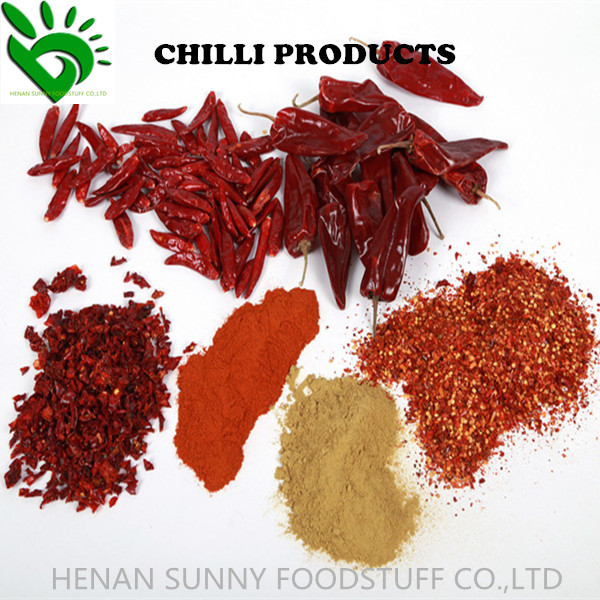DEHYDRATED CHILLI POWDER