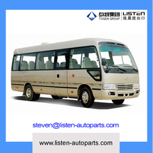 china made high quality diesel minibus with 6-8 meter 10-23 seats