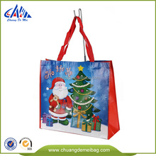 customized hote sale christmas gift bag,christmas tote bag