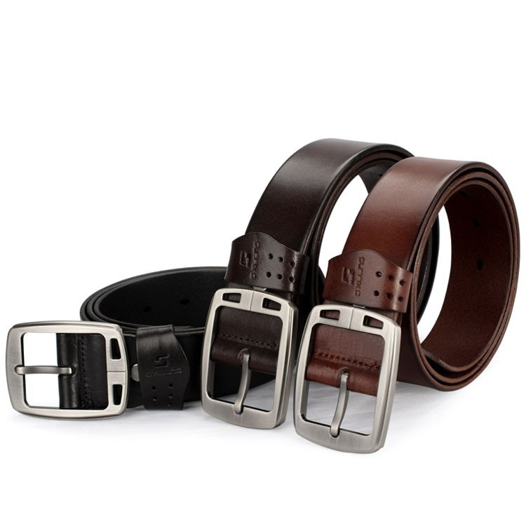 leather belt perforated men leather obi belt