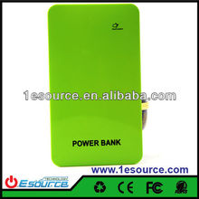 Multiple pad laptop external mobile battery charger power bank supply for iPhone 4/iPad,cellphone/Tablet PC
