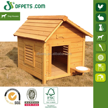 High Quality Wooden Lowes Dog Kennels And Runs DFD3014
