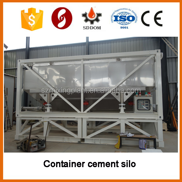 Container stainless steel silo for grain powder storage,silo price