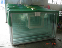 Stained outdoor 12mm tempered glass basketball backboard
