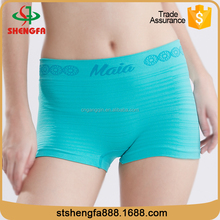 2016 new design seamless spandex slimming panty for women