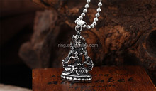 Wholesale Cool Chinese Sakyamuni Pendant High Qualty 316L Stainless Steel
