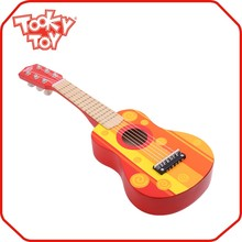 TOOKYTOY BRAND21 Inch 6 Strings Mini Toy Craft Wooden Miniature Toy Acoustic Guitar