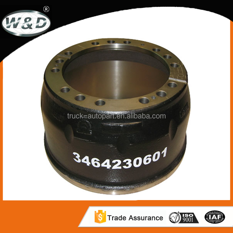 material used for heavy duty truck brake drum and wheel hubs