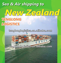 ocean container freight rates to Auckland and Wellington of New Zealand from China Ningbo Qingdao Tianjin
